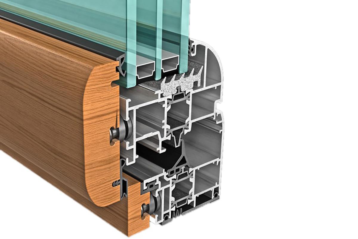 Infissi in legno alluminio prezzi affordable infissi in e - Finestre legno alluminio prezzi ...